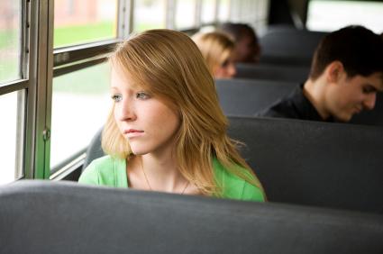 Cascadian Farm-Teenage Girl on Bus